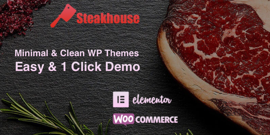Steakhouse Pro - Responsive WordPress Theme
