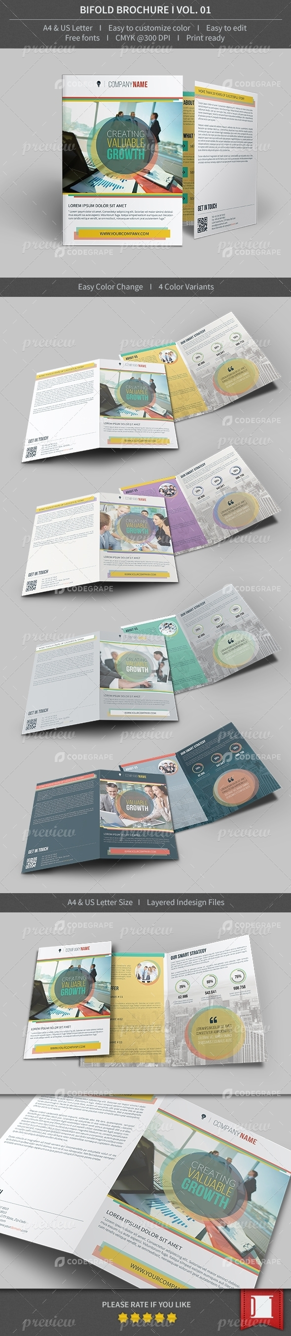 Bifold Brochure - Volume 01