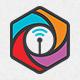 Wifi Cube Logo Template