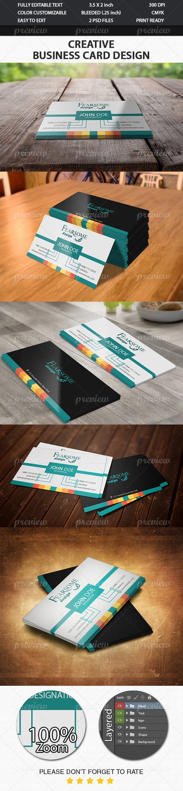 Creative Business Card 8