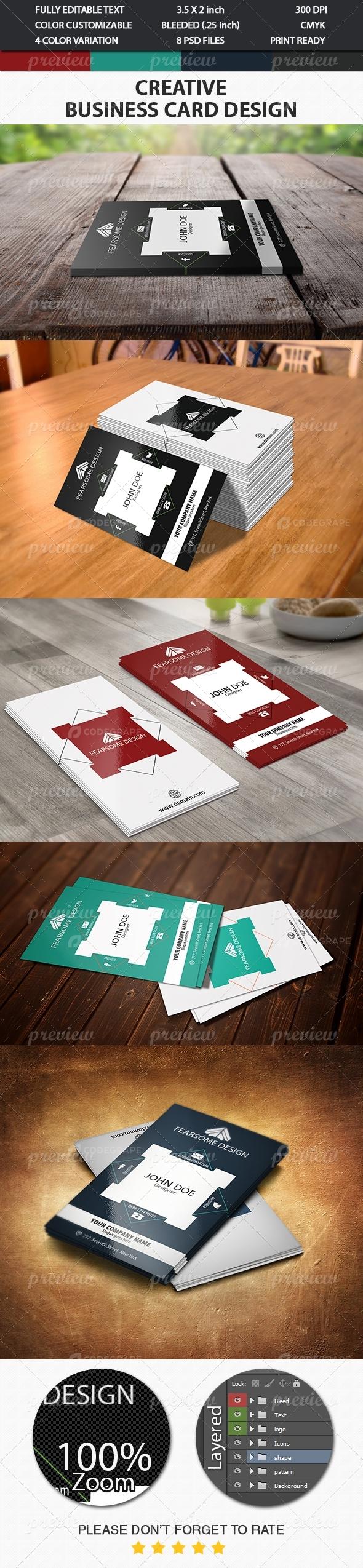 Creative Business Card 7