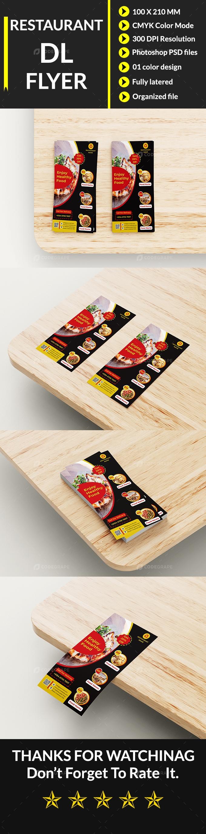 Restaurant DL Flyer