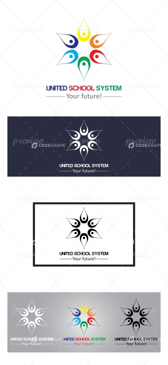 United School System Logo