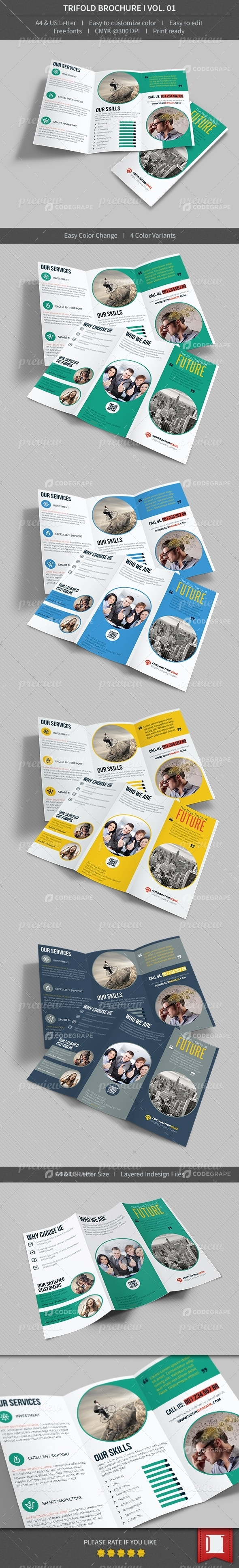 Trifold Brochure - Volume 01