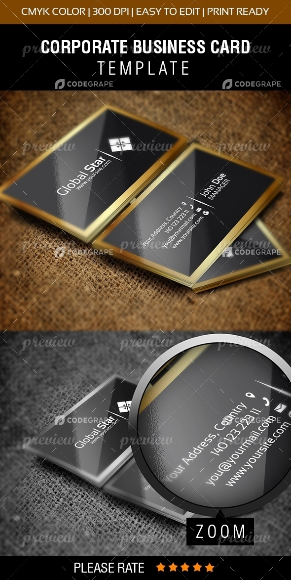 Latest Template Business Card