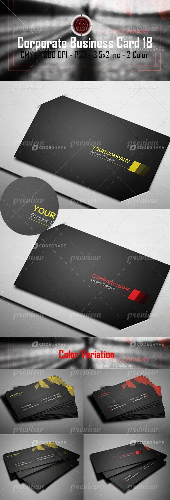 Corporate Business Card 19