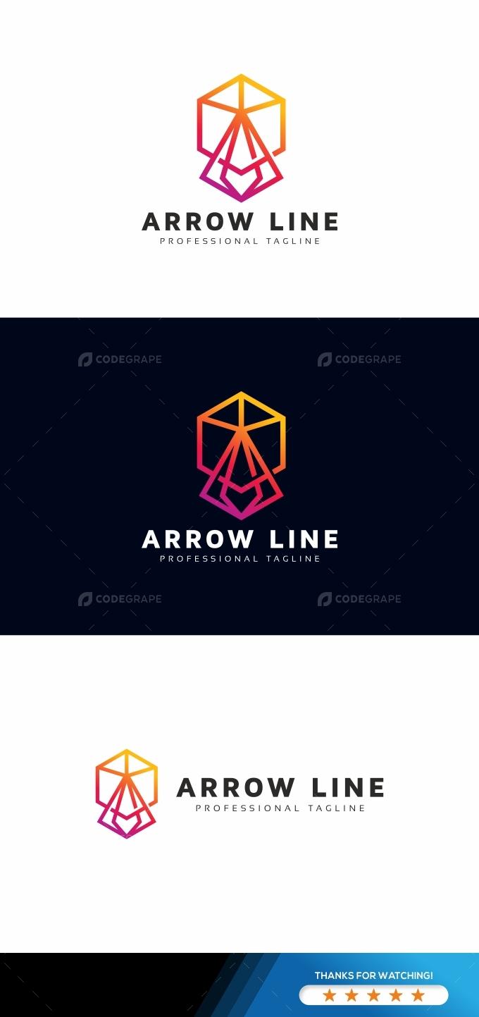 Arrow Line Logo