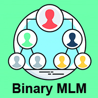 Binary MLM Software with ecommerce and Autopull