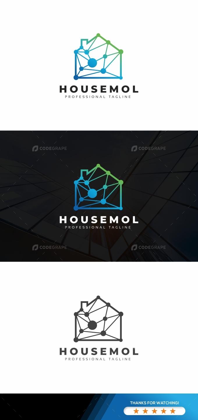 House Molecular Logo