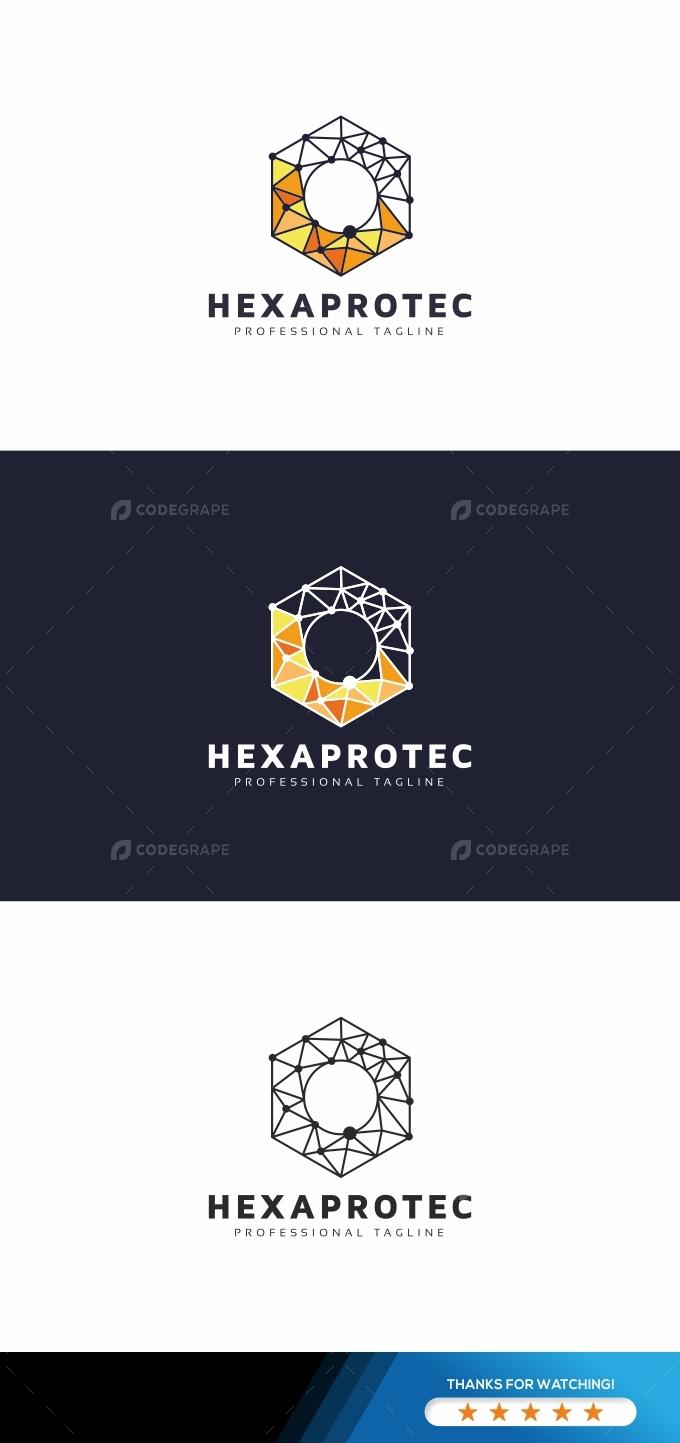 Hexagon Digital Logo