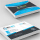 Circle Arrow Corporate  Business Card