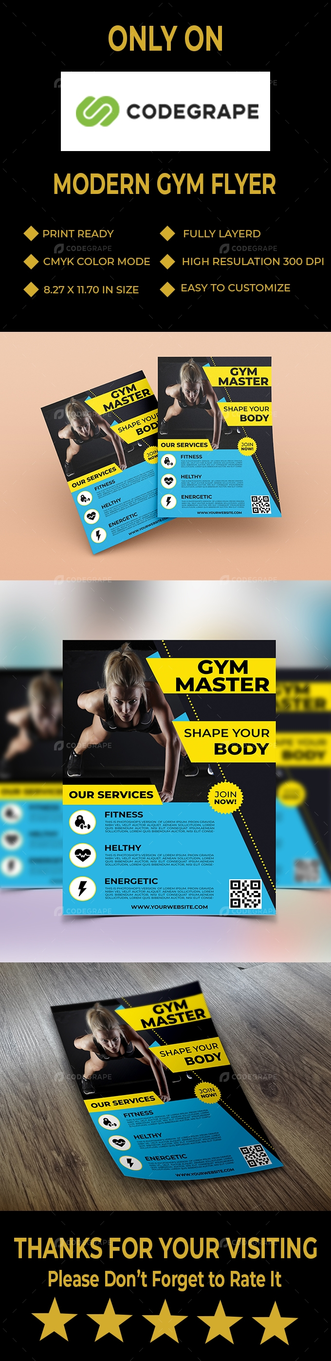 Modern GYM Flyer