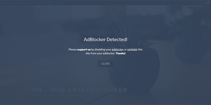 DH - New Anti AdBlocker
