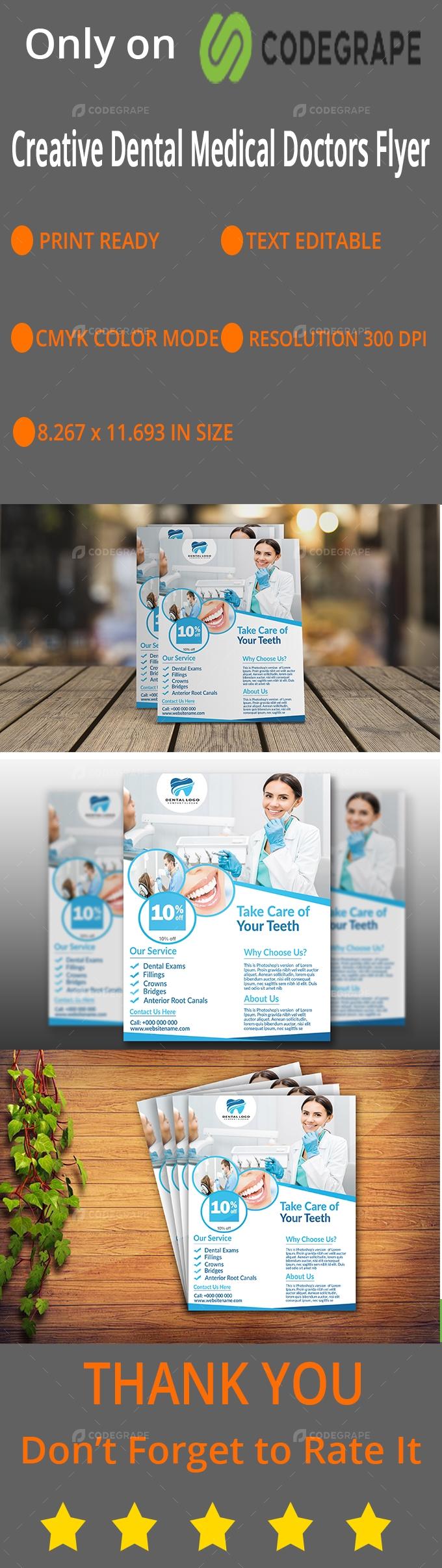 Dental Medical Doctor Flyer