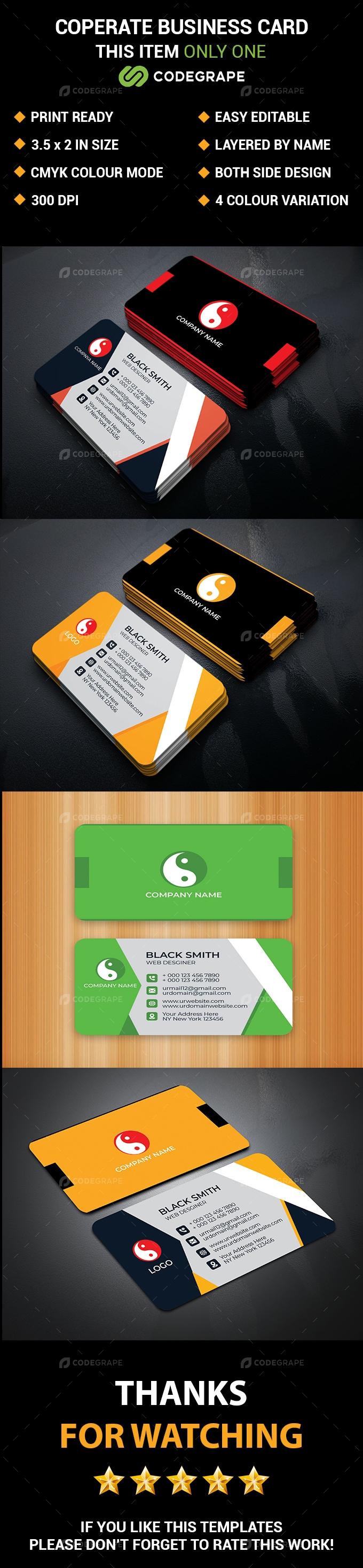 Coperate Business Card