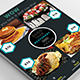 Food Menu Flyer Design