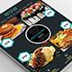 Food Menu Flyer Design
