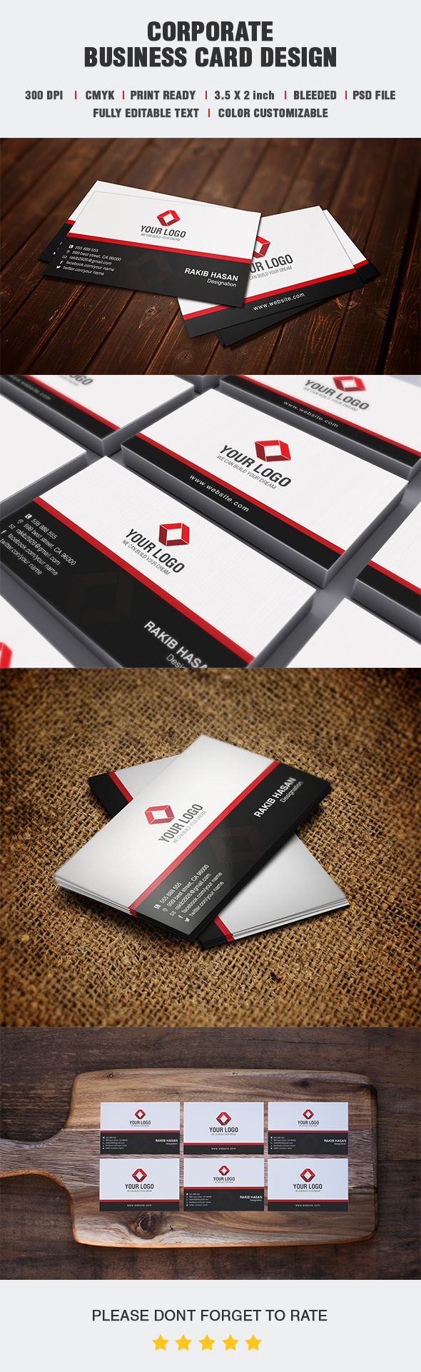 Corporate Business Card 3