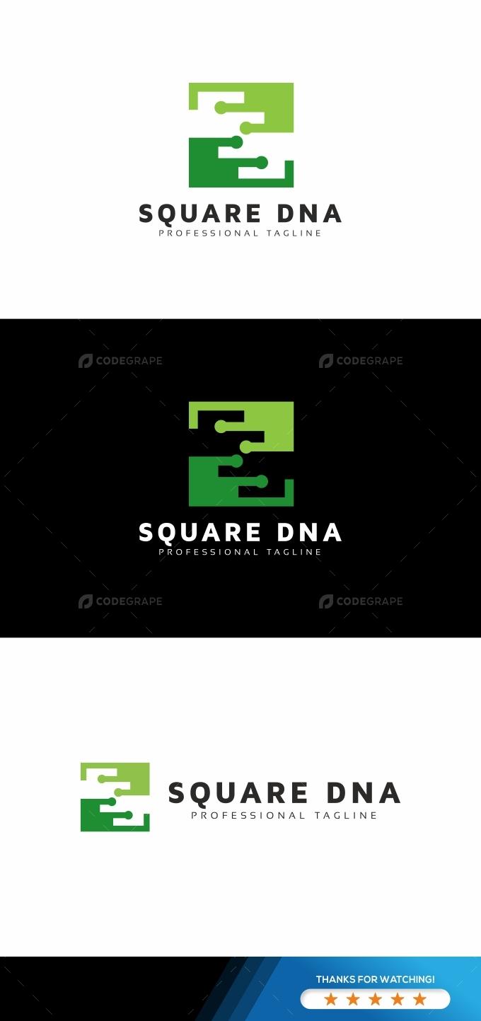 Square DNA Logo