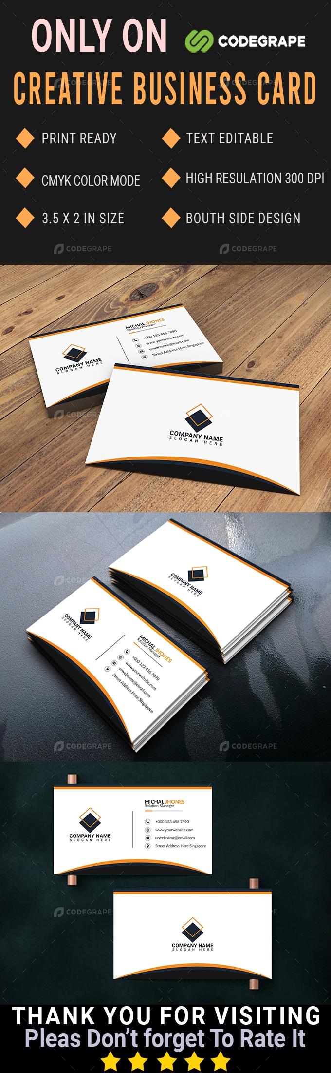 Unique & Creative Business Card
