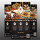Creative Restaurant Flyer Template