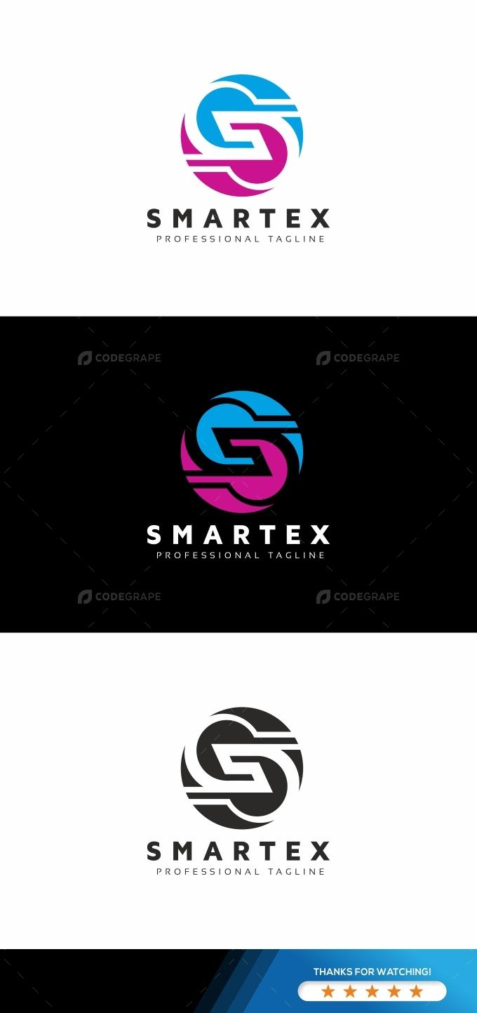 Smartex S Letter Logo