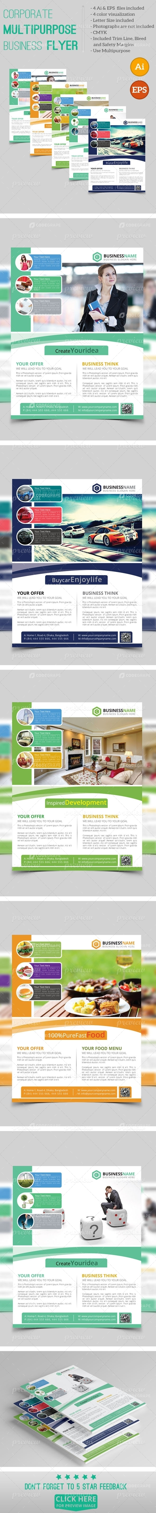 Corporate Multipurpose Business Flyer