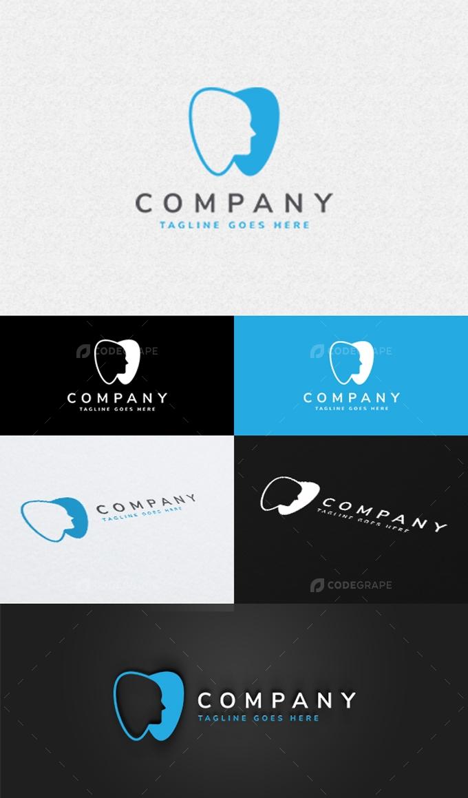 Dentist Care Logo Template