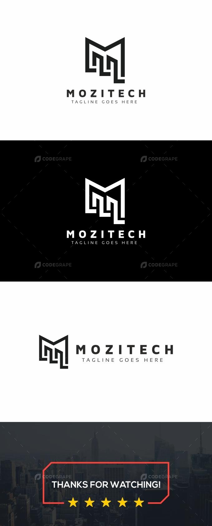 M Letter Tech Logo