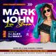 DJ Artist Live Stream Flyer