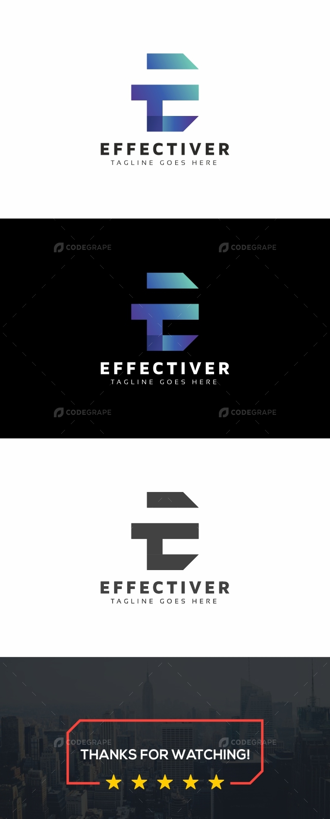 Effectiver E Letter Logo