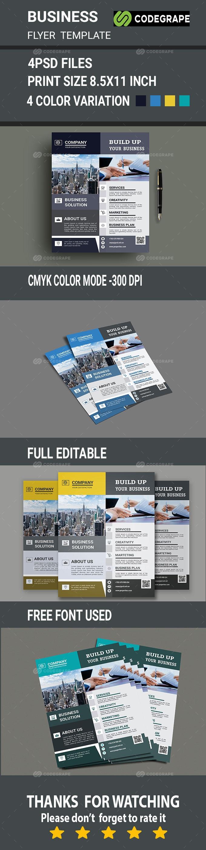 Creative Corporate Business Flyer