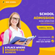 Kids Education Instagram Post Banner Template