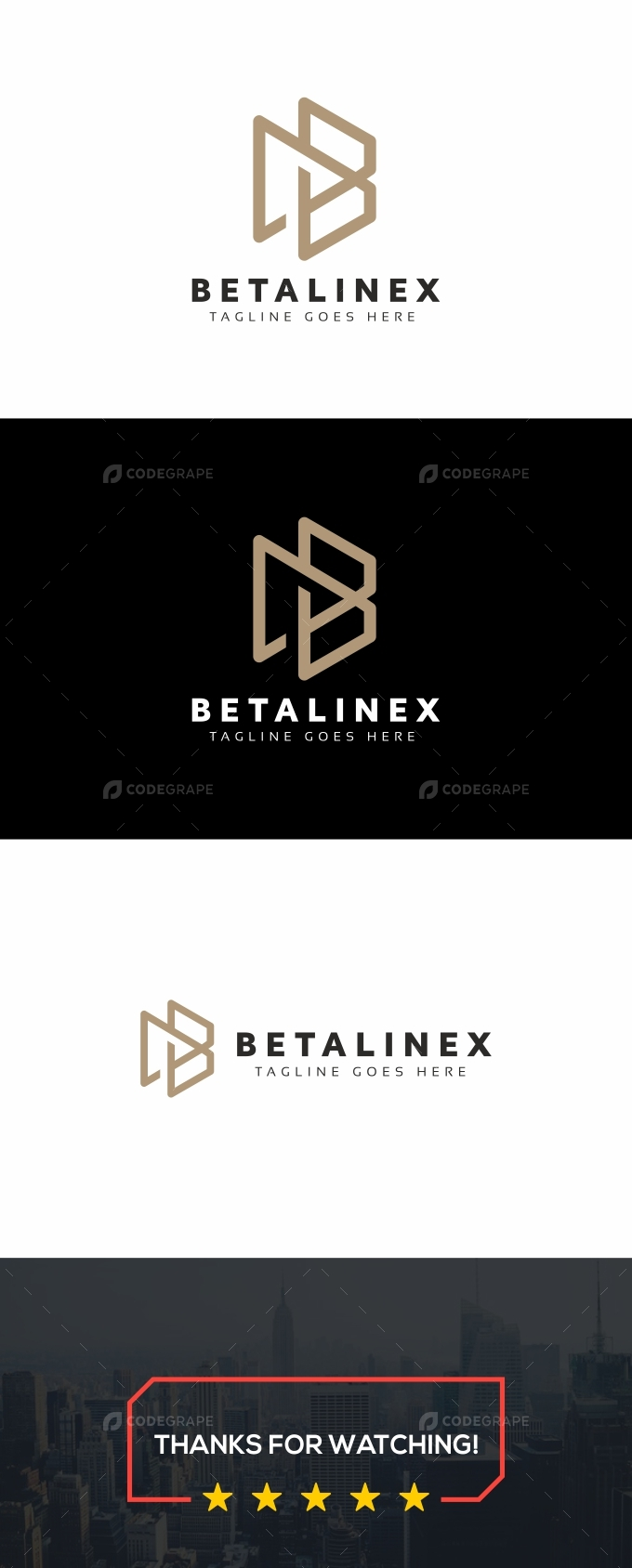 Betalinex B Letter Logo