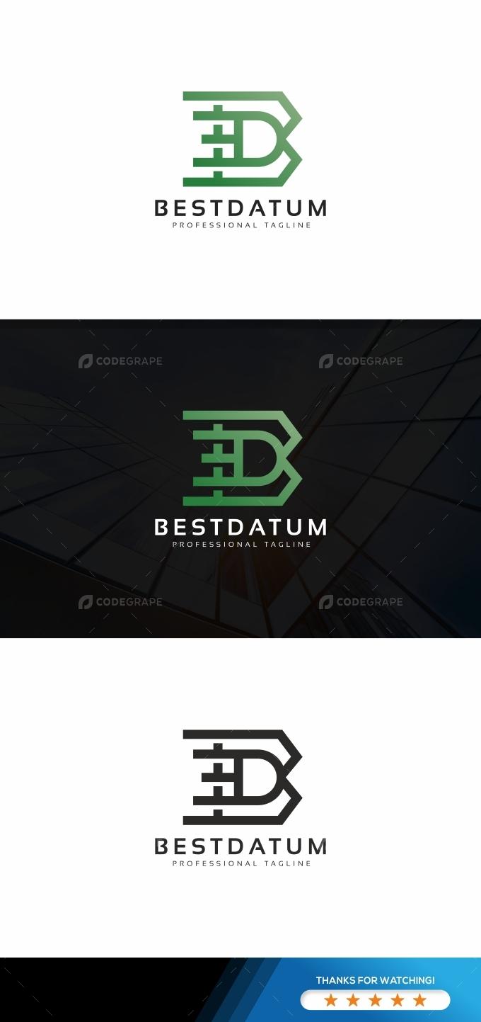 Bestdatum B Letter Logo
