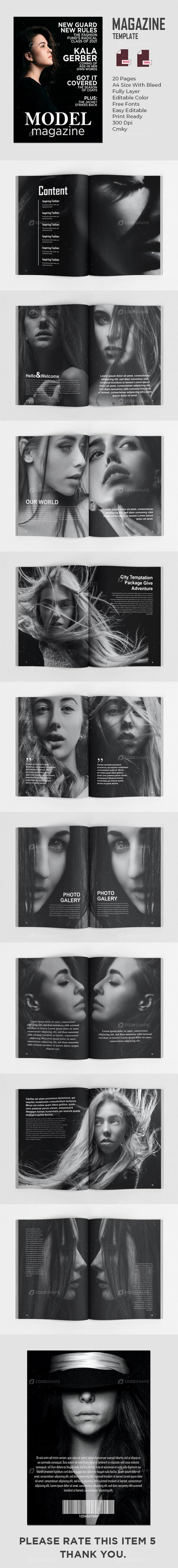 Female Model Magazines