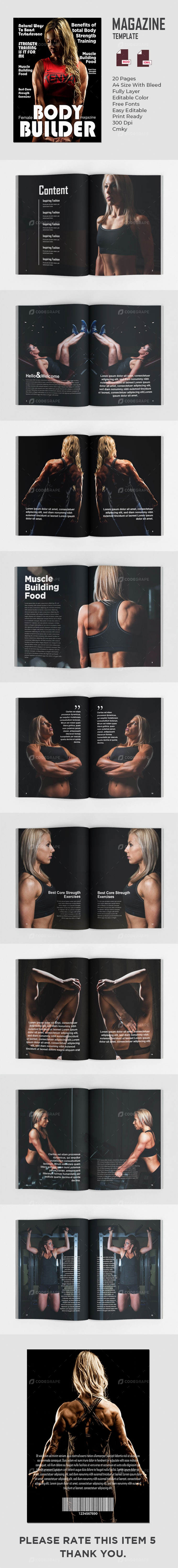 Female Bodybuilder Magazines