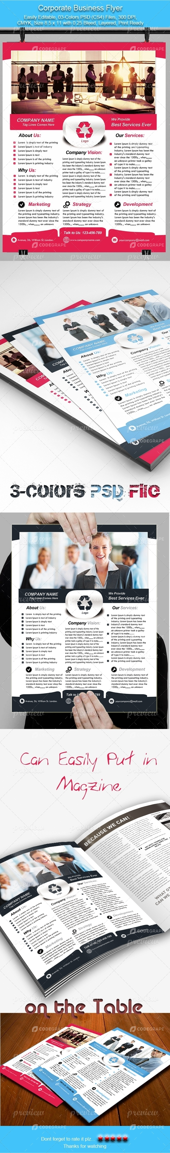 Corporate Business Flyer 3