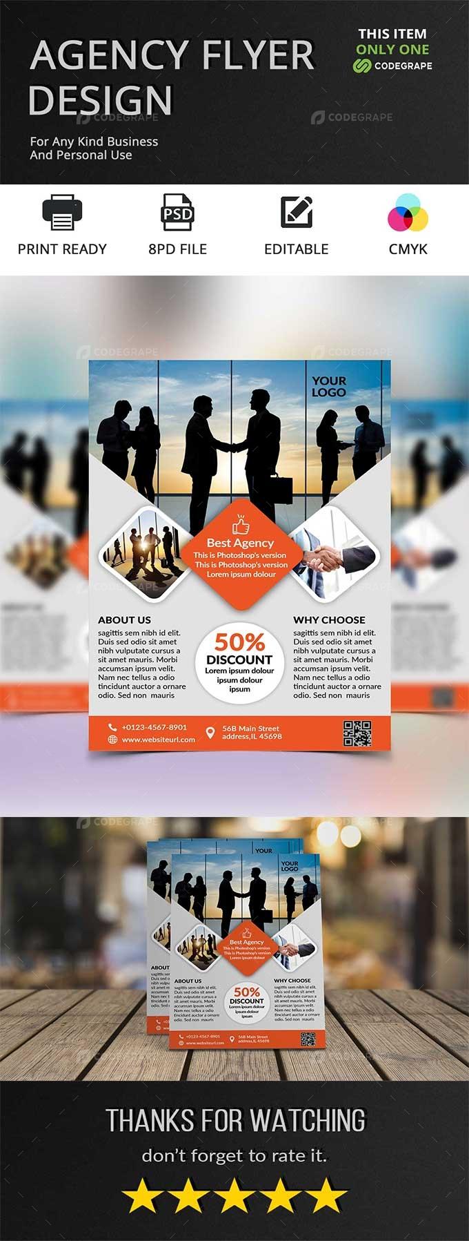 Agency Flyer Design