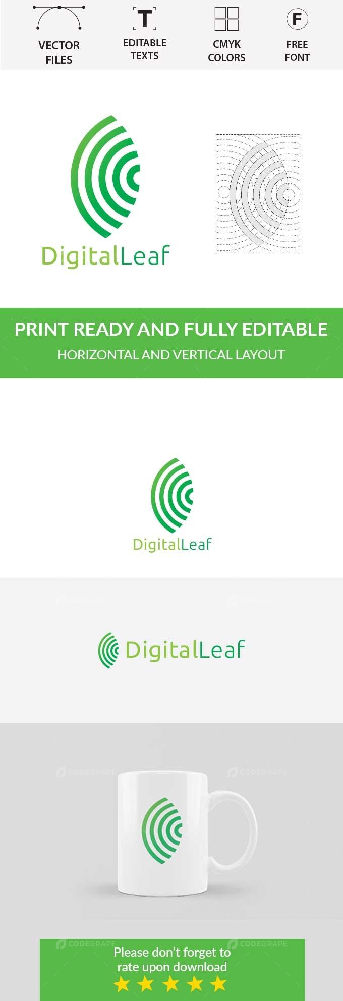 Digital Leaf Logo