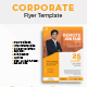 Clean Minimal Corporate Flyer Design