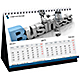 2015 Corporate Desk Calendar Design
