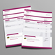 Corprate Indesign Invoice