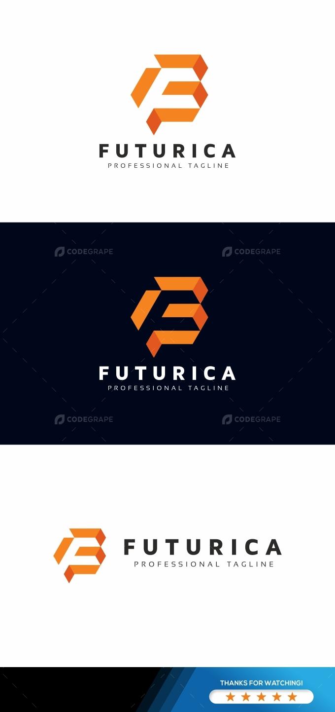 F Letter Logo Template