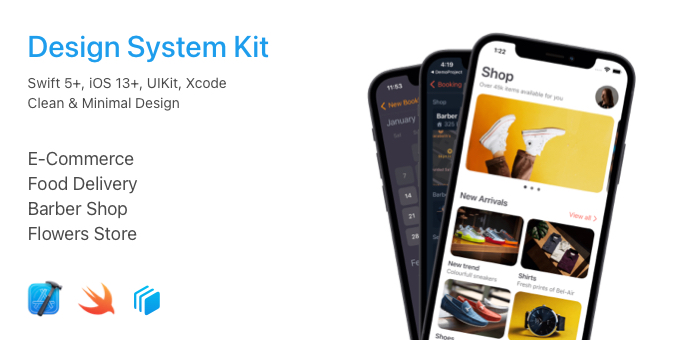 iOS Design System Kit