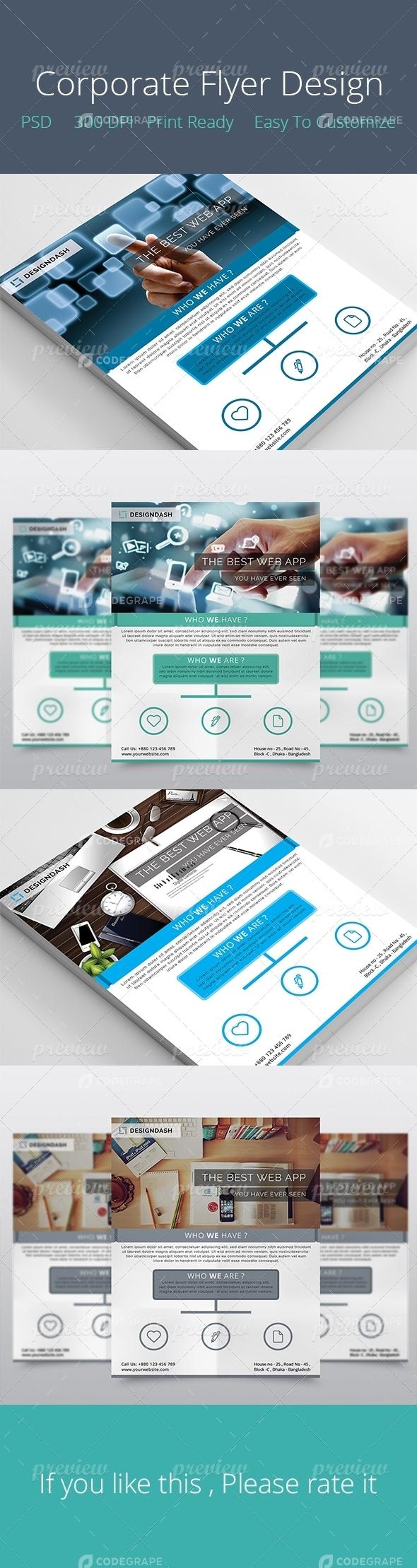 Corporate Flyer Design 2