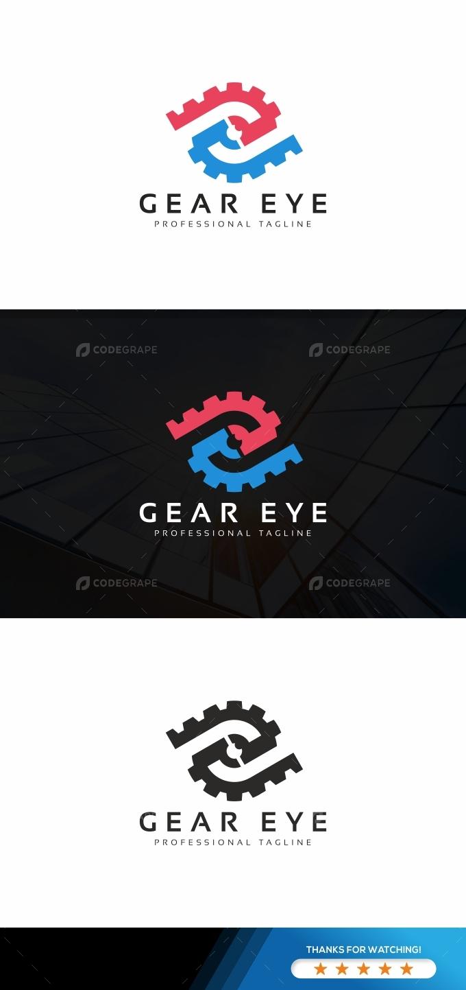 Gear Eye Tech Logo