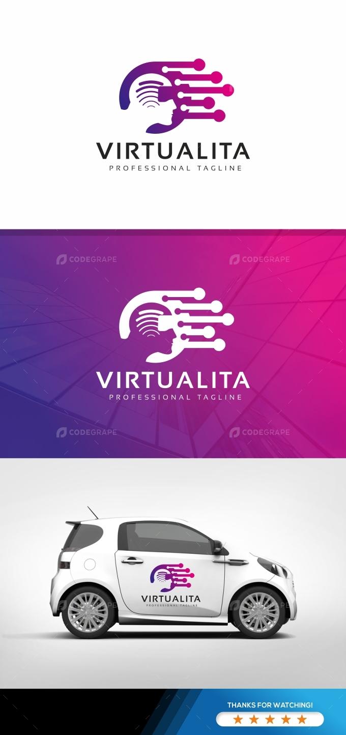 Virtual Human Network Logo