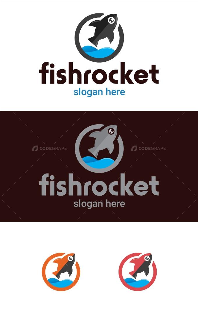 Fish Rocket Logo