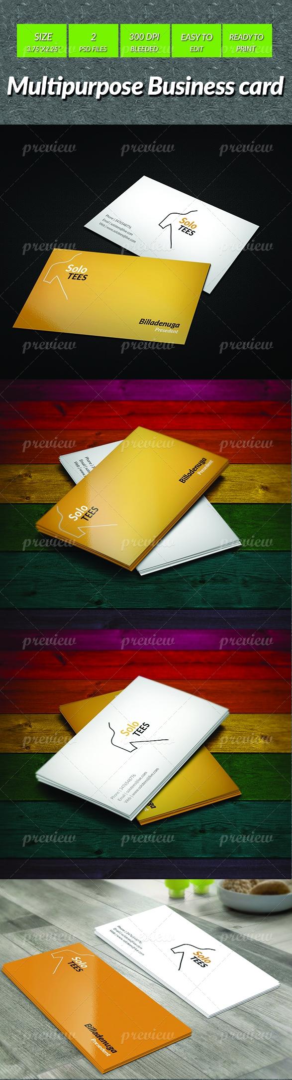 Multipurpose Business Card 2